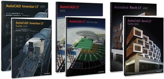 AutoCAD produktai